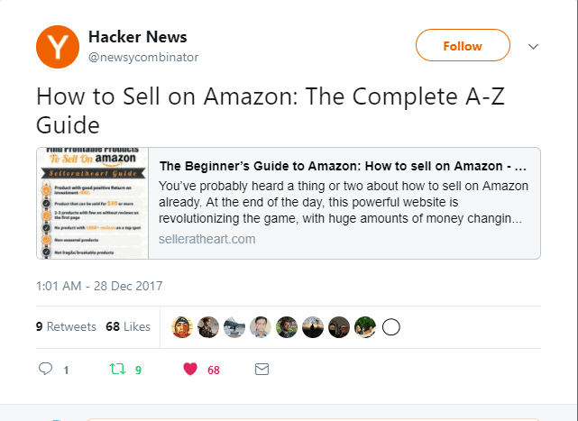 promote on hacker news