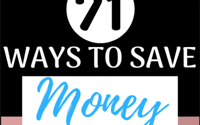 72 Simple Ways to Save Money Today