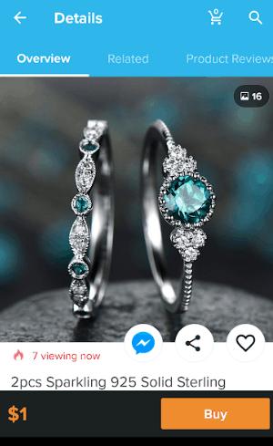 wish app jewellery