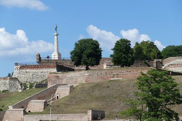 Kalemegdan Belgrade Serbia