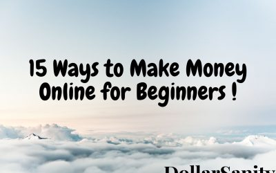 15 Ways to Make Money Online for Beginners