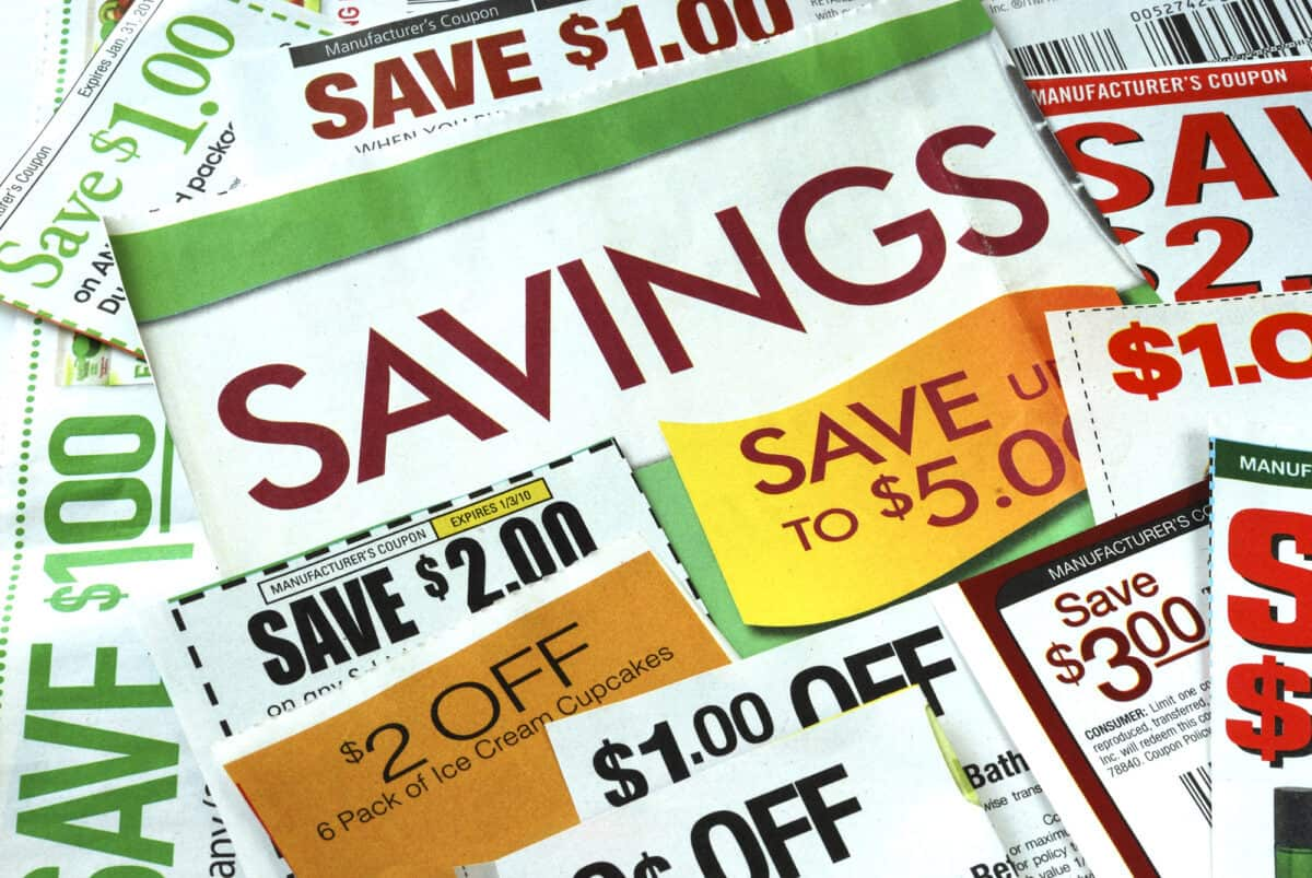 Free Coupons by mail