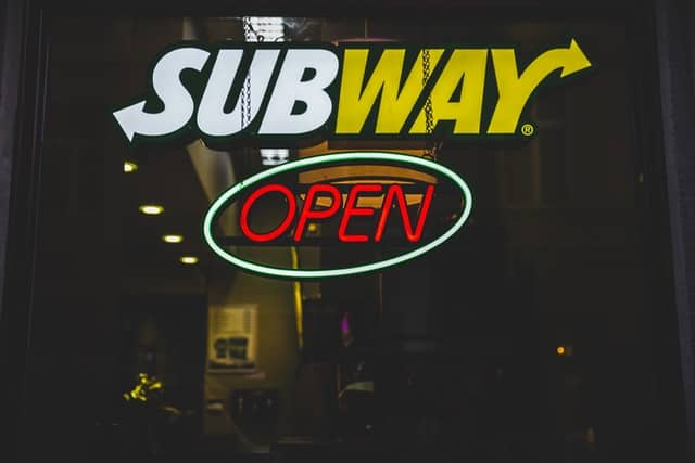 Subway Sub of the Day Special 2021 for $3.50