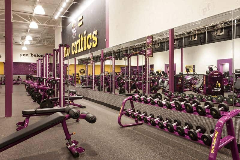 Complete List of Planet Fitness Workout Machines